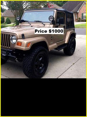 ֆ1OOO_1999 Jeep Wrengler for Sale in Irvine, CA