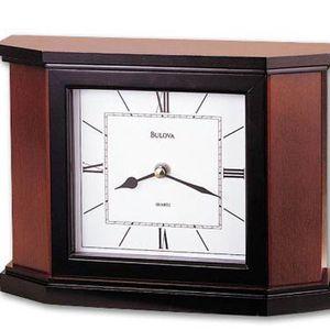 Bulova B1881 Holyoke Non-Chiming Mantel Clock for Sale in Richmond, TX
