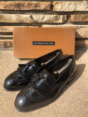 Florsheim Lexington Wing Tip Kiltie Tassel Men's Dress Shoes for Sale in Wichita, KS
