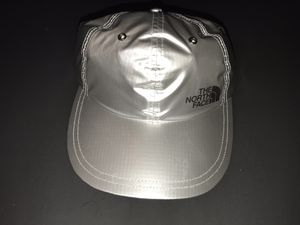 NEW SUPREME NORTH FACE METALLIC SILVER HAT CAP for Sale in Alexandria, VA
