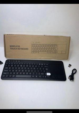 Wireless Touch Pad Keyboard for Sale in San Bernardino, CA