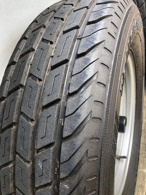 Trailer tires with rims for Sale in Miami, FL