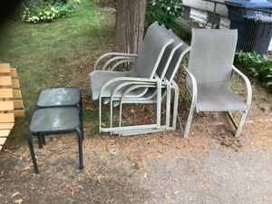 Free patio chairs for Sale in Minneapolis, MN