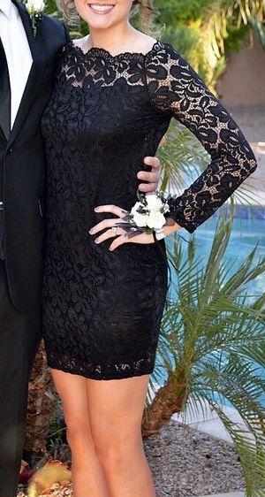 Black off the shoulder dress size M for Sale in Mesa, AZ
