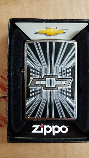Zippo Chevy bowtie street chrome 28260 for Sale in Los Angeles, CA