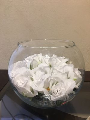 Round glass bowl for Sale in Fort Worth, TX