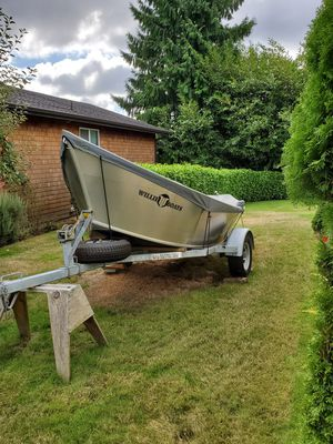 16×54 willie drift boat for Sale in Cosmopolis, WA