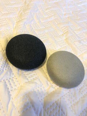 Google Home Pods (Bluetooth Speaker) 2 for $30 OBO for Sale in Auburn, WA