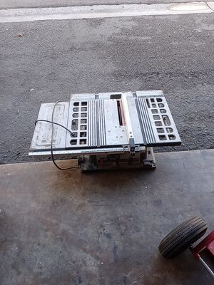 Table saw for sale for Sale in Oceanside, CA