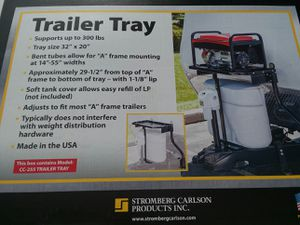 Generator rack for camper / travel trailer for Sale in Streetsboro, OH