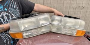Stock Chevy headlights and DTR/turn signal LENSES for Sale in Warren, MI