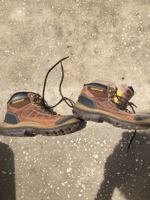 Size 11 caterpillar work boots for Sale in Spring Hill, FL