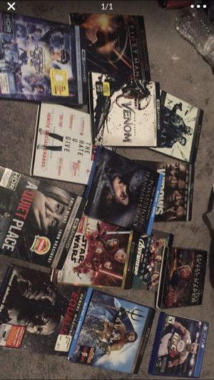 Movies / blue ray/ 4K for Sale in Los Angeles, CA
