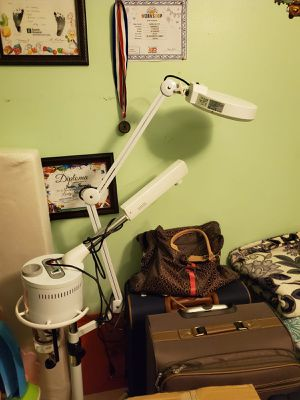 Facial steamer lamp which ozone for Sale in Princeton, FL