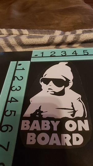 Baby on board decal for Sale in Federal Way, WA