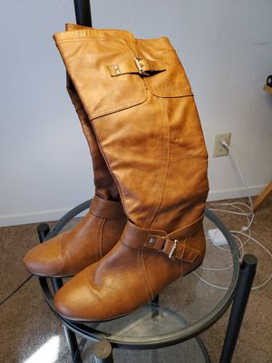 Brown/Tan knee high Boots for Sale in Fresno, CA