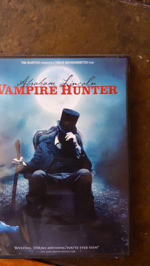 Abraham Lincoln Vampire Hunter dvd for Sale in Bell Gardens, CA