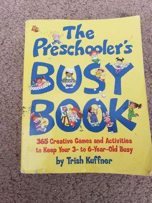 The Preschoolers Busy Book for Sale in Menifee, CA