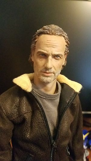 1/6 Scale Figure Kitbashed The Walking Dead Rick Grimes DAM Toys Redman Toys for Sale in Houston, TX