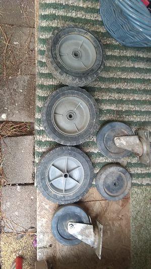 Industrial/ shop/ go cart Wheels ,$200:worth?!Xlnt price!! for Sale in Payson, AZ