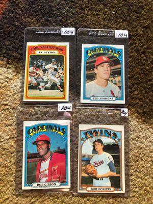 1972 Topps Baseball cards for Sale in Orlando, FL