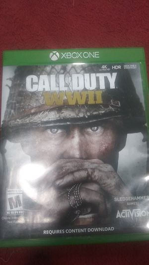 Call of duty ww2 for Sale in Fontana, CA