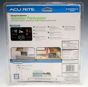 AcuRite 13044 Digital Weather Forecaster With Alarm Clock for Sale in Miami, FL