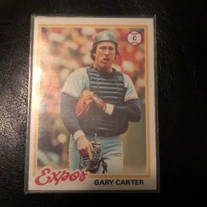 Gary Carter baseball card expos 120 for Sale in Rancho Santa Margarita, CA