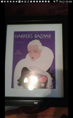 Harper Bazaar framed print for Sale in S CHESTERFLD, VA