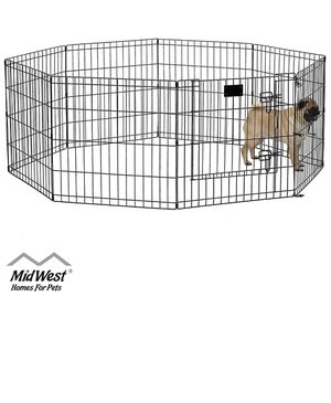Medium dog exercise pen *new in box for Sale in Fresno, CA