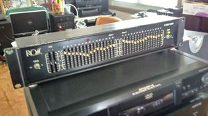 HOME/PRO AUDIO RACK-MOUNT EQUALIZERS for Sale in Aurora, IL