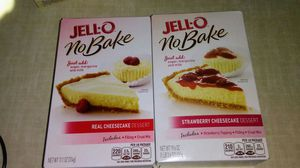 JELL-O NO BAKE CHEESECAKE for Sale in West Palm Beach, FL