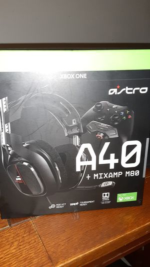 A40 xbox one headset for Sale in Brockton, MA