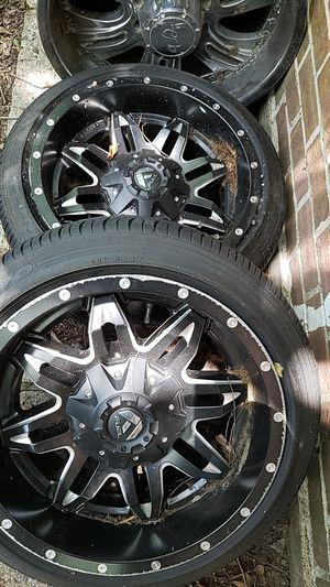 """18"""" Fuel wheels for Sale in Houston, TX"""