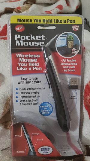 Pocket Mouse Wireless Mouse for Sale in Chicago, IL