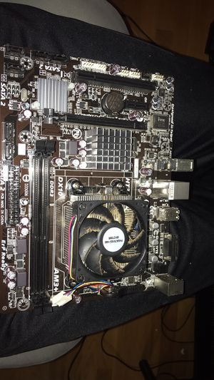 Gigabyte motherboard with fx4300 for Sale in San Francisco, CA