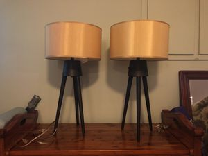 Two table lamps for Sale in Ashburn, VA