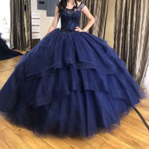 (Xs)(00) Navy blue off the shoulder Quinceanera dress for Sale in E RNCHO DMNGZ, CA