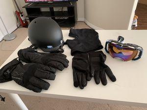 Ski Set (Helmet, Gloves, Goggles) (Pick Up Only) for Sale in Monterey Park, CA
