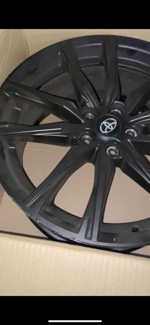 Stock 2019 Toyota 86 Rims (No Tires) (Black Plasti Dip) Rims were only used for 4k miles basically brand new 10/10 for Sale in Redlands, CA