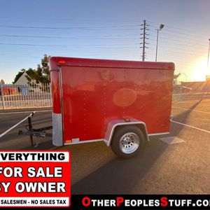 1998 Haulmark Trailer 5' X 8' *FOR SALE BY OWNER* *NO SALES TAX* for Sale in Phoenix, AZ