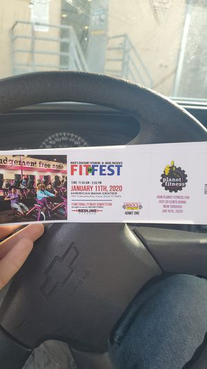 Fit fest 2020 tickets for Sale in CORP CHRISTI, TX
