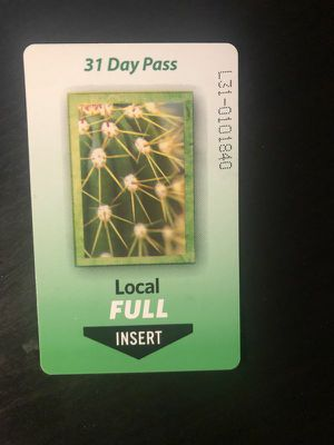 Full Fare Monthly Bus Pass for Sale in Mesa, AZ