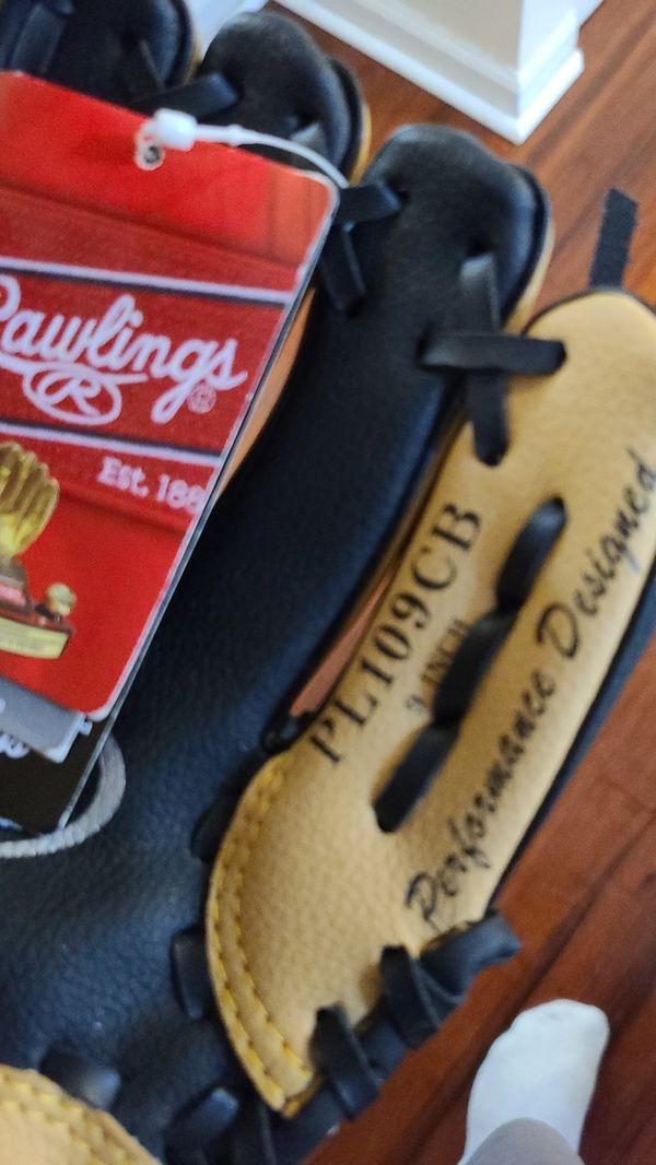 Rawlings kids tball baseball glove