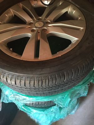Authentic Mercedes wheels 275/50 r20 model gl suv for Sale in Tempe, AZ