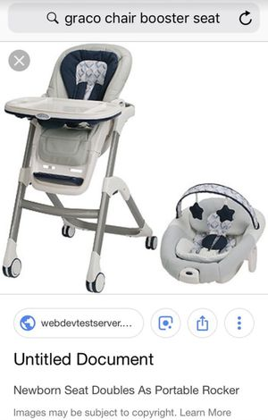 Graco chair booster seat for Sale in Alexandria, VA