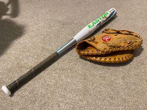 Baseball/Softball Bat and Glove for Sale in Mesa, AZ