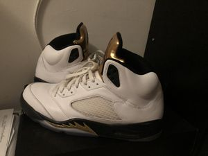 Jordan 5 Olympic golds for Sale in Alexandria, VA