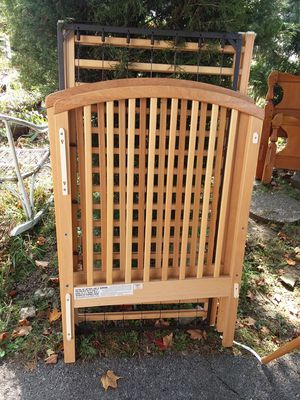 Baby crib snap together for Sale in Columbus, OH
