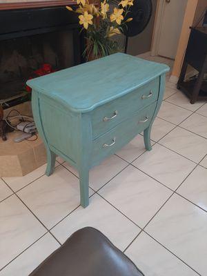 Gorgeous 33 x 19 x 30 Teal Blue Vintage Farmhouse Shabby Chic Dresser for Sale in Orlando, FL
